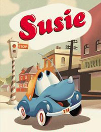 Susie the Little Blue Coupe